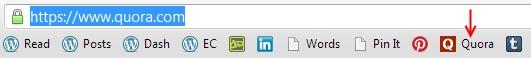 Google bookmark efficiency tip