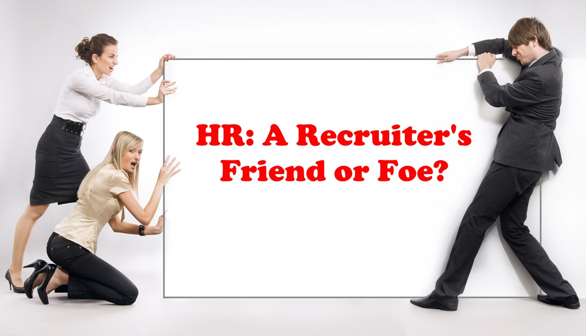 HR and a recruiter fighting